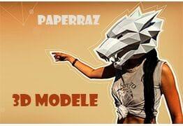 Papercraft modele 3d to świetna zabawa!