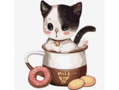 Kotek w filiżance №1