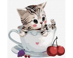 Kotek w filiżance №3