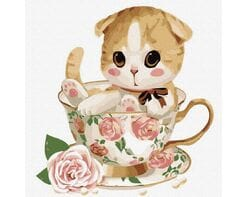 Kotek w filiżance №4