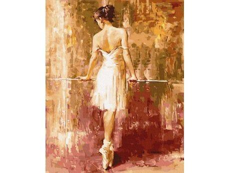 Baletnica malowanie po numerach