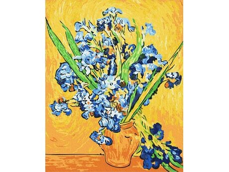 Irysy. Van Gogh malowanie po numerach