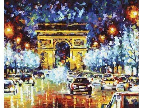 Wieczór w Paryżu malowanie po numerach