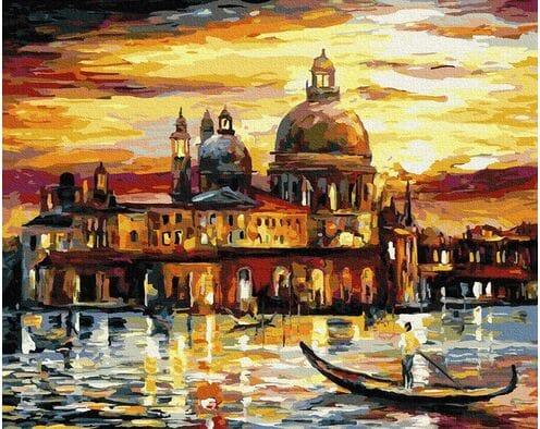 Złote niebo Wenecji