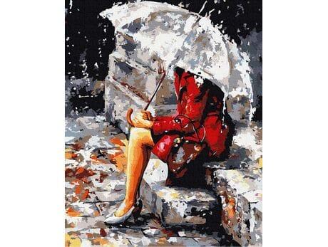 W deszczowe dni