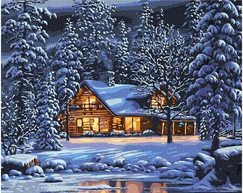W zimowy wieczór