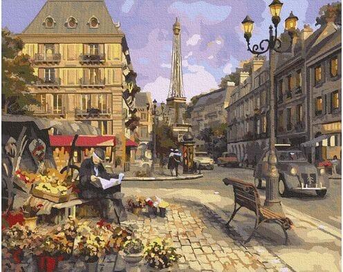 Kwiaciarnia w Paryżu