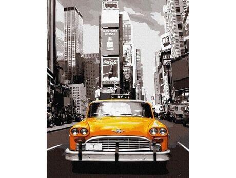Retro Taxi malowanie po numerach