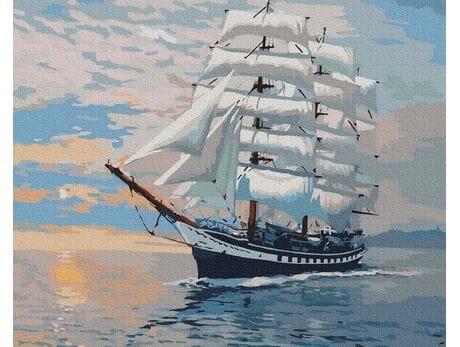 Okręt wojenny malowanie po numerach