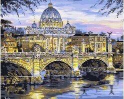 Watykan, Most św. Anioła, Bazylika św. Piotra