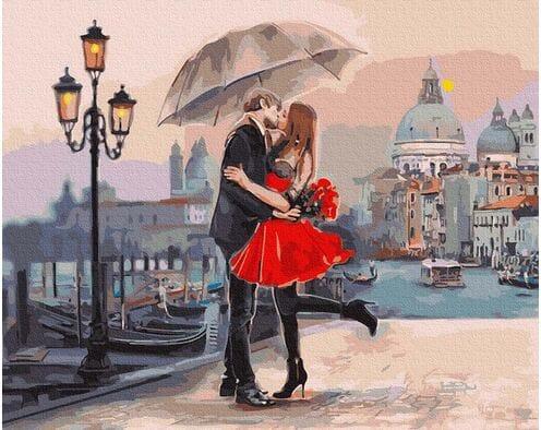 Zakochani na moście