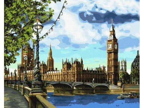 Widok na Big Ben