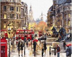 Jaskrawe kolory Londynu