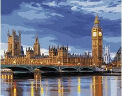 Big Ben o wschodzie słońca