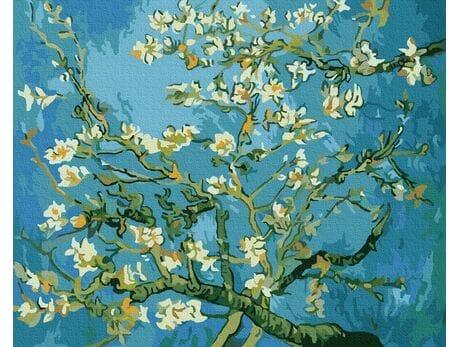 Kwitnące Migdały, Van Gogh malowanie po numerach