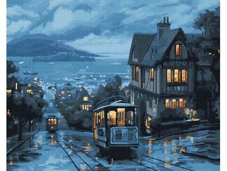 Nocny tramwaj malowanie po numerach
