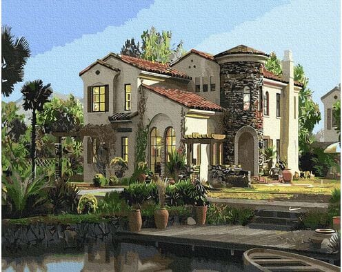 Elegancki dom