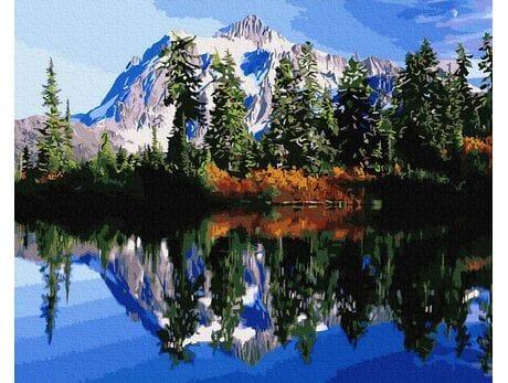 Świeżość górskiego powietrza malowanie po numerach