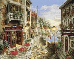 Przybrzeżna restauracja