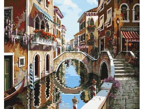 Wspaniała Wenecja malowanie po numerach