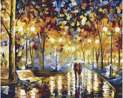 W deszczowy wieczór