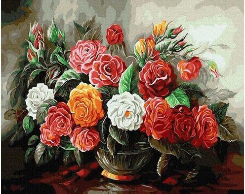Luksusowy bukiet róż