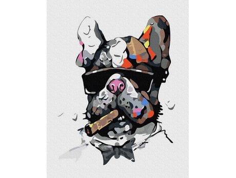 Super pies malowanie po numerach