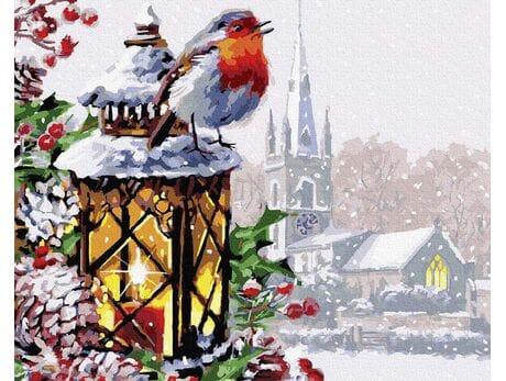 Pieśń Bożego Narodzenia malowanie po numerach