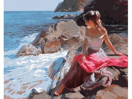 Piękno przybrzeżnych fal