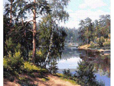 Leśna Rzeka malowanie po numerach