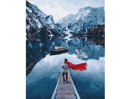 Norweskie fiordy malowanie po numerach