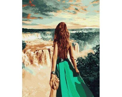 Podążaj za mną - wodospad Niagara