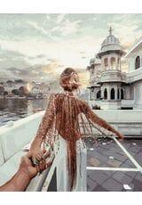 Podążaj za mną - Jezioro Udaipur