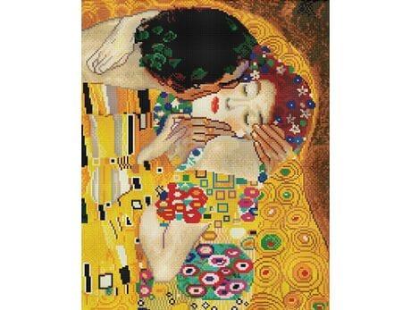 Pocałunek (Gustav Klimt) diamentowa mozaika