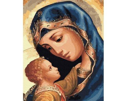 Dziewica Maryja i Jezus