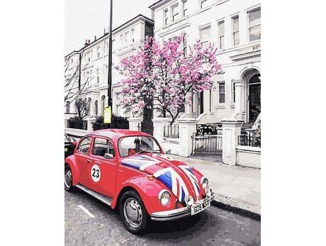 Brytyjskie uliczki malowanie po numerach