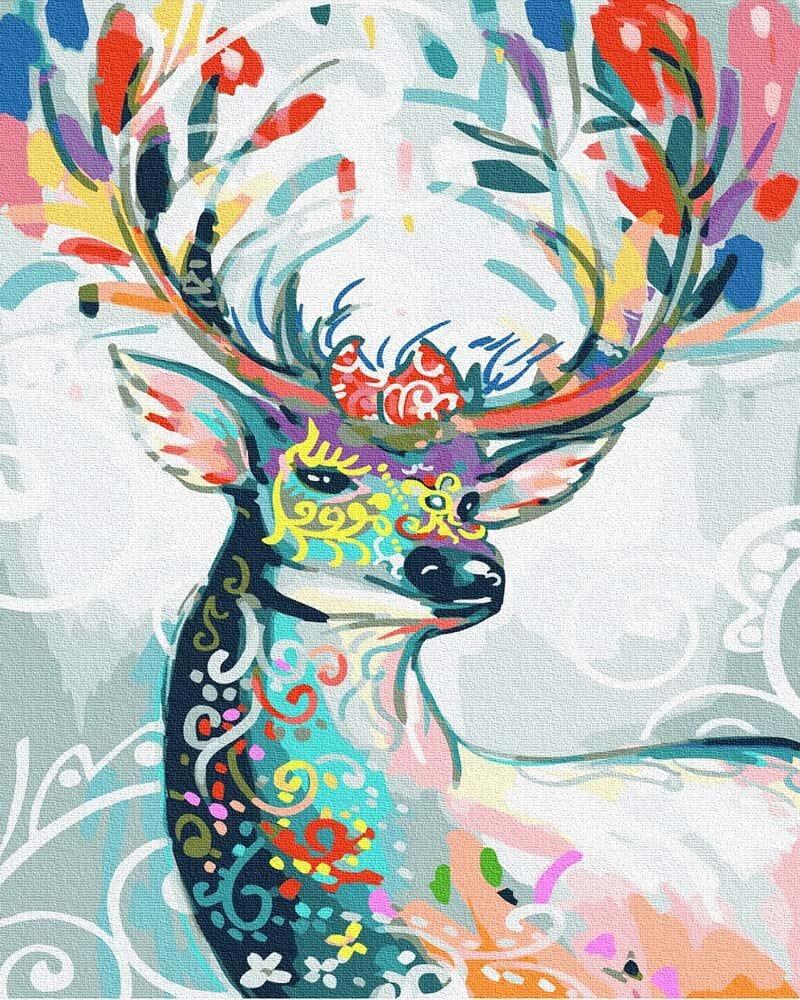Obraz Bajkowy Jelen Pc4050517 Malowanie Po Numerach Ipicasso