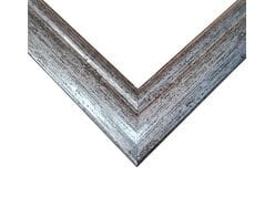 Rama do obrazów 50cm*65cm, kolor srebrny antyk