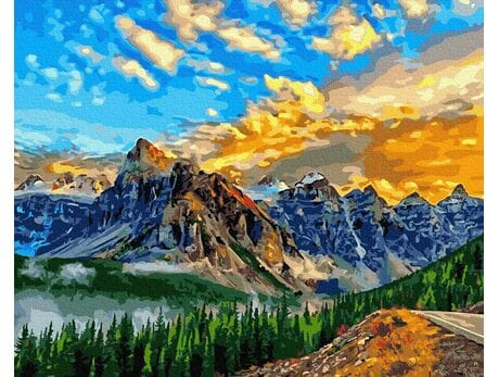 Niebo w górach
