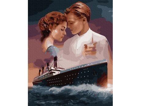 Titanic Miłosna tragedia malowanie po numerach