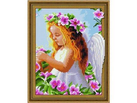 Anielska niewinność diamentowa mozaika