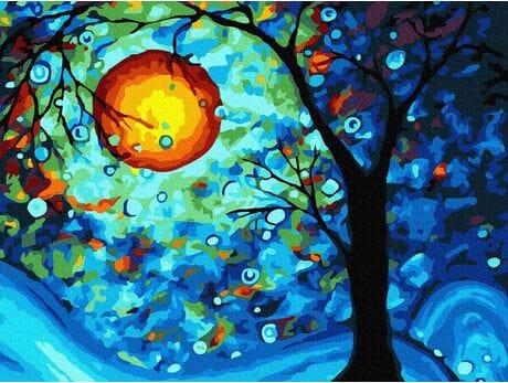 Drzewo życzeń malowanie po numerach