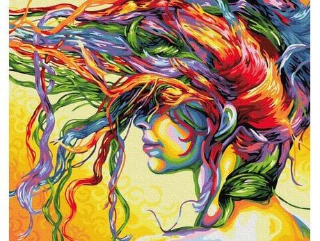 Kolorowe marzenia malowanie po numerach