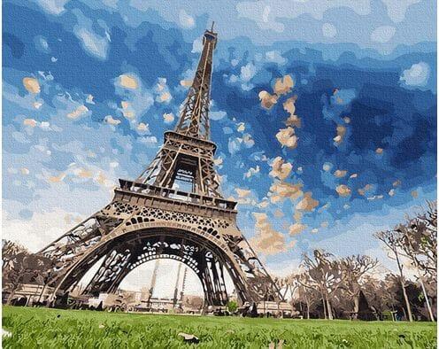 Romantyczne niebo Paryżu