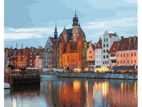 Gdańsk Stare Miasto malowanie po numerach