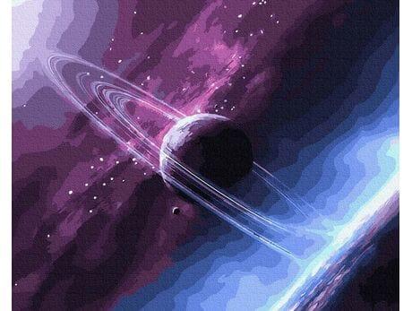 Nieznane kolory Kosmosu malowanie po numerach