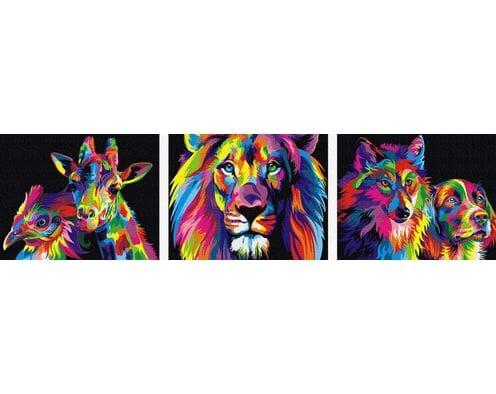 Kolorowe zwierzęta