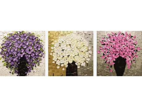 Zamieszki kolorów malowanie po numerach