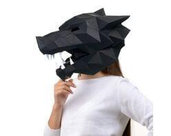 Maska Wilk (czarna)