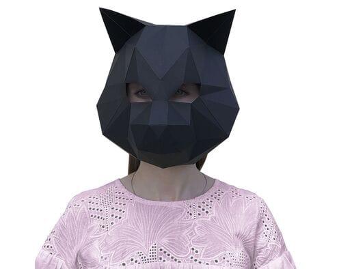 Maska Cat (czarna)
